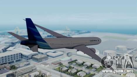 Boeing 777-9U3(X) Garuda Indonesia para GTA San Andreas left