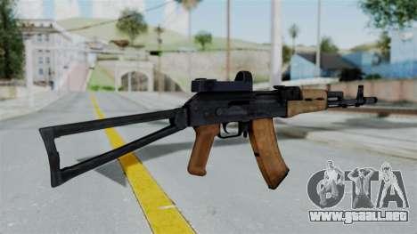 Arma2 AKS-74 Cobra para GTA San Andreas segunda pantalla