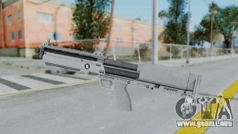 GTA 5 Bullpup Shotgun - Misterix 4 Weapons para GTA San Andreas segunda pantalla