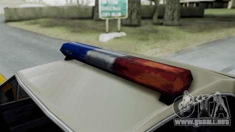 Police Clover para la visión correcta GTA San Andreas