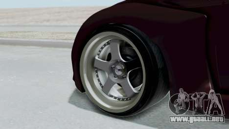 Toyota GT-86 Rocket Bunny para GTA San Andreas vista posterior izquierda