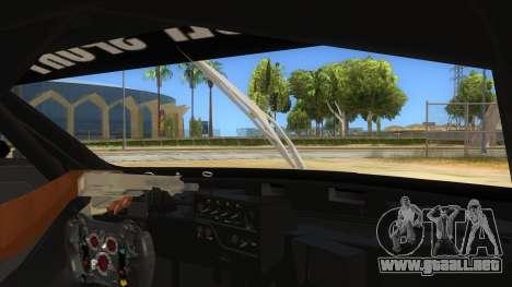 Renault Sport RS 01 INTERCEPTOR para visión interna GTA San Andreas