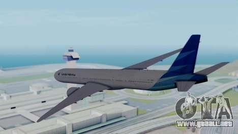 Boeing 777-9U3(X) Garuda Indonesia para la visión correcta GTA San Andreas