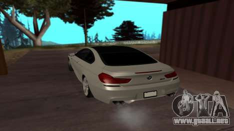 BMW M6 para GTA San Andreas left