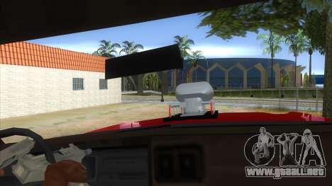 1974 Dodge Monaco Monster Truck para visión interna GTA San Andreas