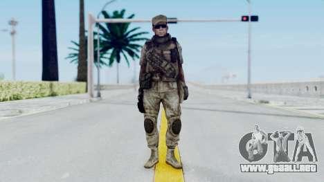 Crysis 2 US Soldier 4 Bodygroup B para GTA San Andreas segunda pantalla