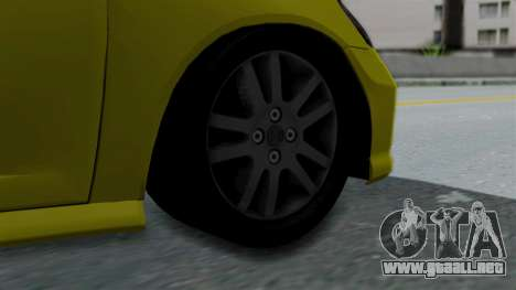 Honda Accord Vtec2 Stock para GTA San Andreas vista posterior izquierda