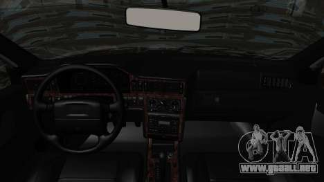 Volvo 850R 1997 Tunable para GTA San Andreas vista hacia atrás