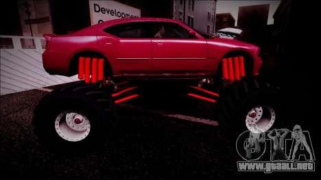 2006 Dodge Charger SRT8 Monster Truck para el motor de GTA San Andreas