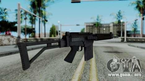 Arma 2 FN-FAL para GTA San Andreas segunda pantalla