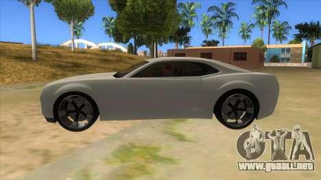 Chevrolet Camaro DOSH tuning MQ para GTA San Andreas left