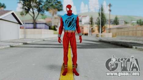 Scarlet Spider Ben Reilly para GTA San Andreas segunda pantalla