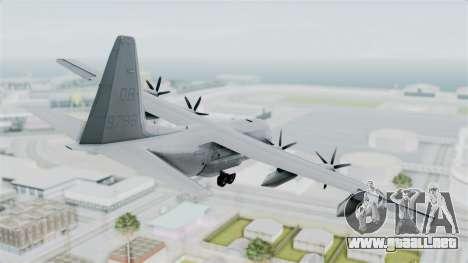 KC-130J Harvest Hawk para GTA San Andreas left