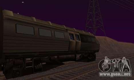 Batman Begins Monorail Train v1 para GTA San Andreas left