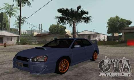Subaru Impreza WRX STi Tunable para GTA San Andreas