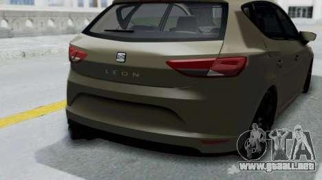 Seat Leon para la visión correcta GTA San Andreas