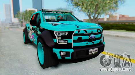 Ford F-150 2015 Drift Gym para GTA San Andreas