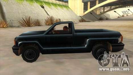 GTA III Bobcat Original Style para GTA San Andreas left