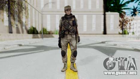 Crysis 2 US Soldier 5 Bodygroup B para GTA San Andreas segunda pantalla