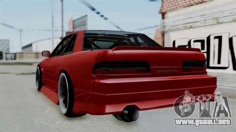 Nissan Silvia S13 Drift para GTA San Andreas left