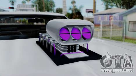 Ford Gran Torino Monster Truck para la visión correcta GTA San Andreas