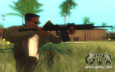 Saiga-12 Calibre para GTA San Andreas segunda pantalla