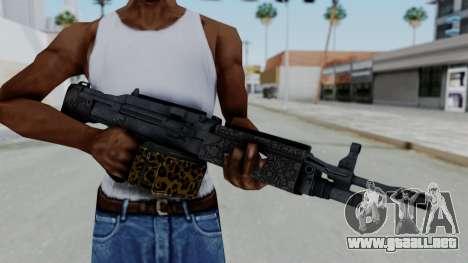 GTA 5 Online Lowriders DLC Combat MG para GTA San Andreas tercera pantalla