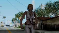 Resident Evil 4 Ultimate HD - Ashley Leather para GTA San Andreas