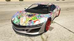 Stickerbomb Jester para GTA 5