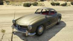1954 Mercedes-Benz 300 SL Gullwing 1.0 para GTA 5