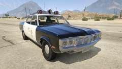 1972 AMC Matador LAPD para GTA 5