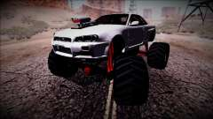 Nissan Skyline R34 Monster Truck para GTA San Andreas