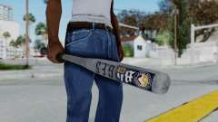 GTA 5 Baseball Bat 6 para GTA San Andreas