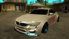BMW M4 Liberty Walk Performance para GTA San Andreas