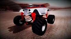 GTA 5 Hotknife Monster Truck