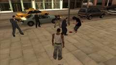 Los rusos en el distrito Comercial para GTA San Andreas