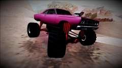1969 Plymouth Road Runner Monster Truck para GTA San Andreas