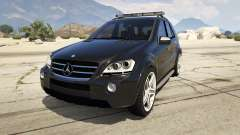 2009 Mercedes-Benz ML63 AMG FBI
