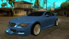 BMW M6 Full Tuning para GTA San Andreas