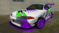 Nissan Skyline GT-R 32 para GTA San Andreas