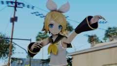 Project Diva F2 - Kagamine Rin (Costume 1) para GTA San Andreas