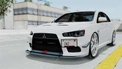 Mitsubishi Lancer Evolution X GSR Full Tunable