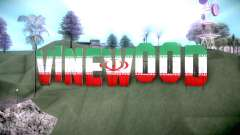 New Vinewood colors Iran flag para GTA San Andreas