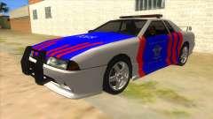 Elegy NR32 Police Edition White Highway para GTA San Andreas