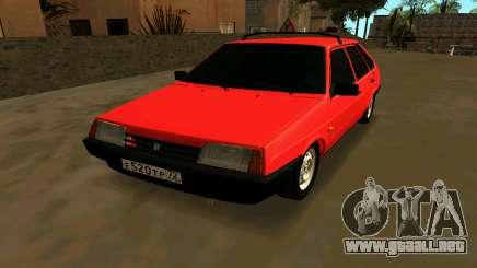 2109 Formación para GTA San Andreas