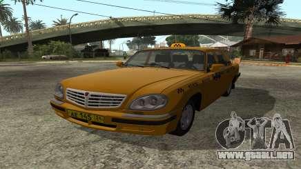 GAZ 31105 Volga Taxi FIV para GTA San Andreas