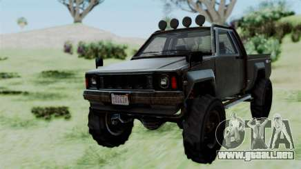 GTA 5 Karin Rebel 4x4 Worn para GTA San Andreas