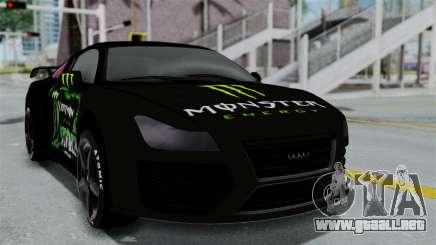 GTA 5 Obey 9F Monster para GTA San Andreas