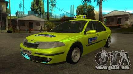 Renault Laguna Mk2 Superior Automático De Velocidad Škola para GTA San Andreas