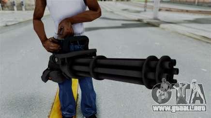 GTA 5 Minigun para GTA San Andreas
